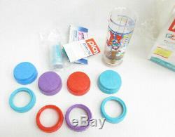 Vtg Playtex Bébé Biberon Bouteilles Sacs En Plastique Starter Set