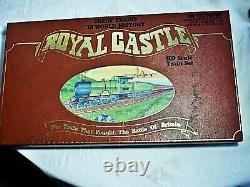 Vtg Royal Castle Ho Electric Train Set Lifelike Passenger Railroad Locomotive