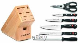Wusthof Gourmet 7 Pièces Couteau Starter Block Set