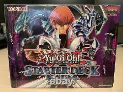 Yu-gi-oh Starter Deck Yugi & Kaiba Set. Nouvelle Case Scellée 1ère Édition